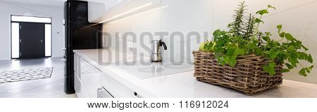 Stylish Kitchen In New House