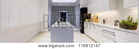 Light Kitchen In Modern House