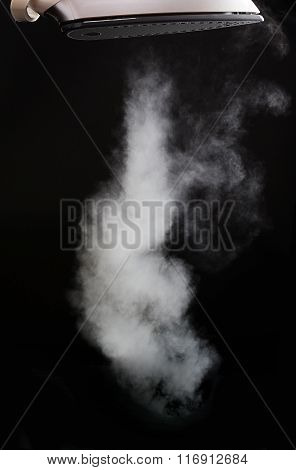 Steam Coming From Iron