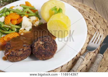 Cutlets Vegetables