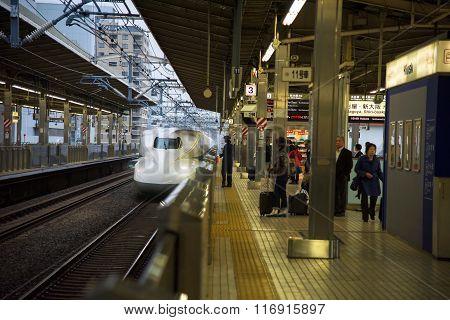 Jr700 Shinkansen Bullet Train
