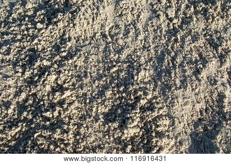 Texture white sand, background