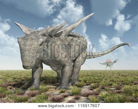 Dinosaur Sauropelta