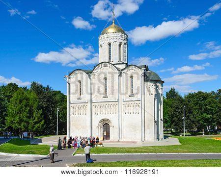 Dmitrievsky (dmitrovsky) Cathedral, Vladimir, Russia