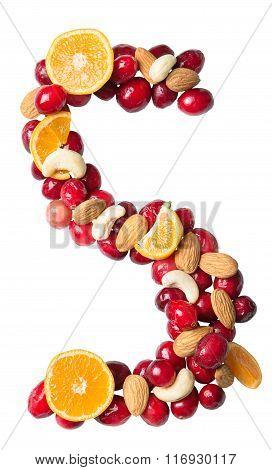 Fruit Letter S