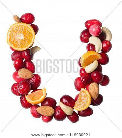 Fruit Letter U