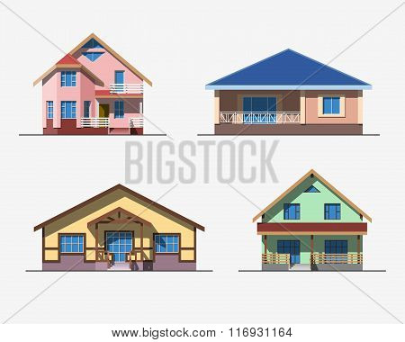 Houses 2 color