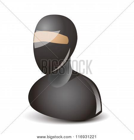 Ninja character icon