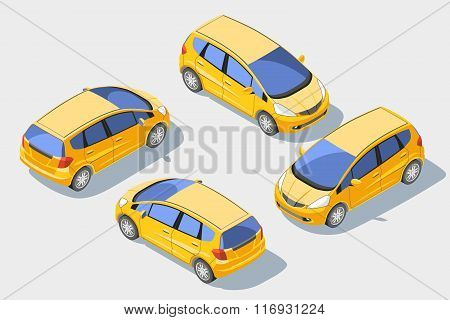 Isometric car 1