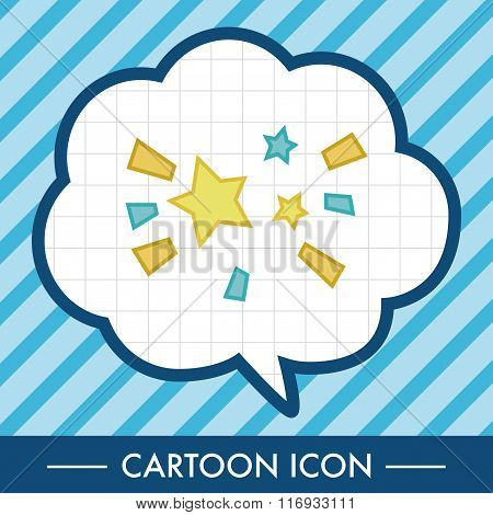 Space Star Theme Elements Vector,eps