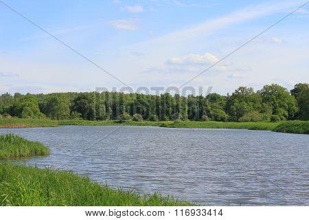 Lake In A Floodplain