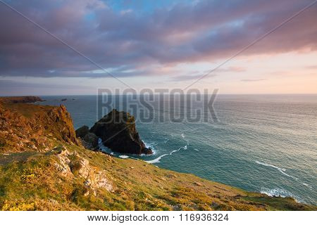 Rugged Coastal Landscape