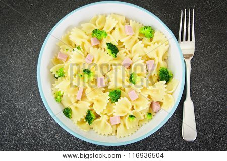 Pasta, Sausage and Broccoli Diet Food