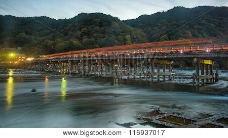 Togetsukyo Bridge And Katsura River, Arashiyama