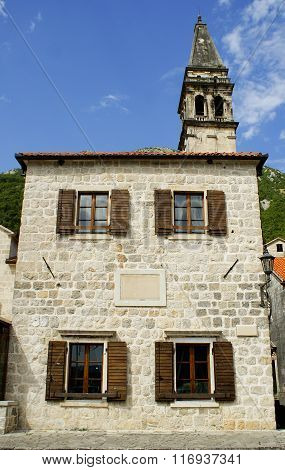 House With Small Windows In Montenegro