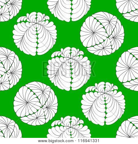 floral abstract ornament