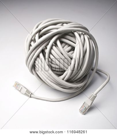 Ball Of Network Cables