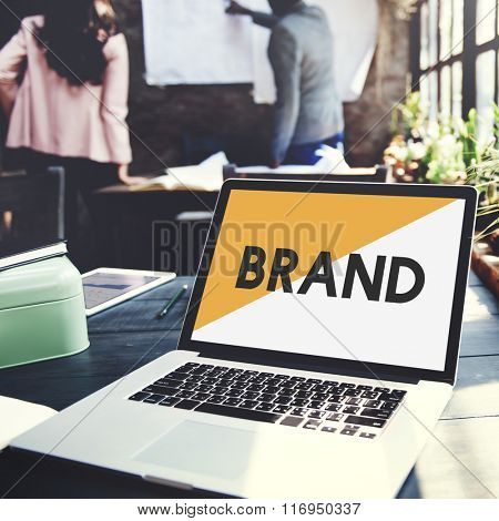 Brand Marketing Plan Business Start up Concept