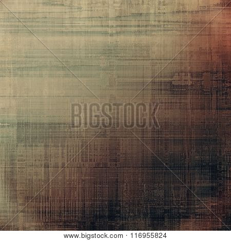 Cracks and stains on a vintage textured background. With different color patterns: yellow (beige); brown; black; gray