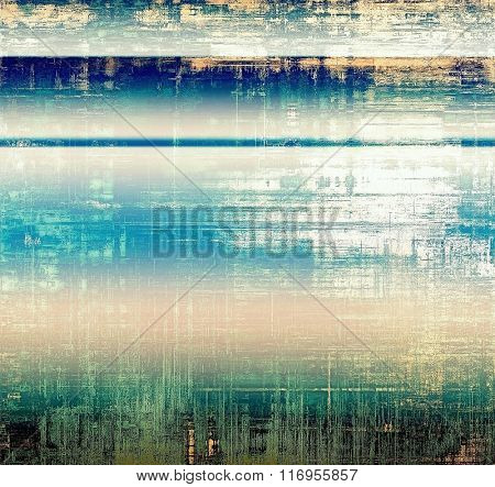 Old antique texture or background. With different color patterns: yellow (beige); white; blue; green; pink