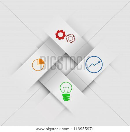 Abstract  Paper Infographics
