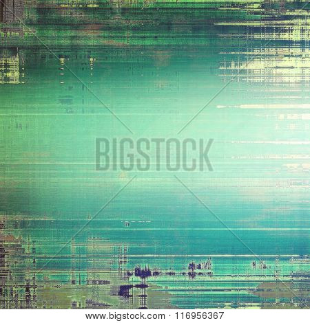 Grunge retro vintage texture, old background. With different color patterns: yellow (beige); brown; blue; green; cyan