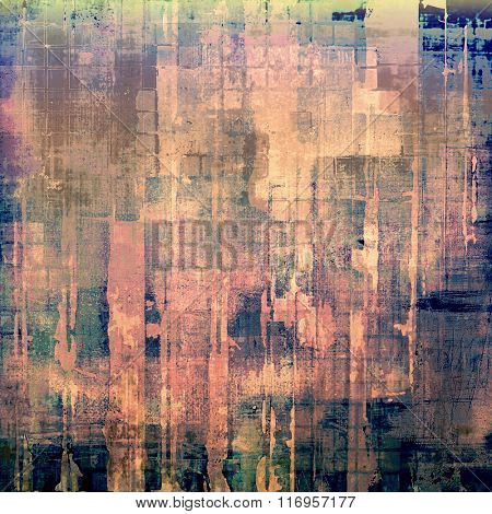 Grunge background or texture for your design. With different color patterns: brown; blue; green; purple (violet); pink