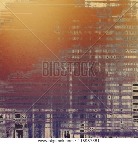 Old background or texture. With different color patterns: yellow (beige); brown; red (orange); purple (violet); gray