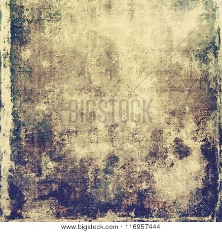 Beautiful antique vintage background. With different color patterns: yellow (beige); brown; purple (violet); gray