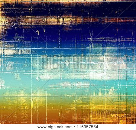 Rough vintage texture. With different color patterns: yellow (beige); brown; white; black; blue
