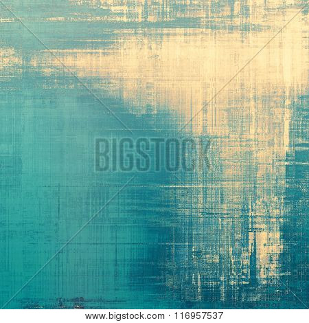 Grunge background or texture for your design. With different color patterns: yellow (beige); brown; blue; cyan; gray