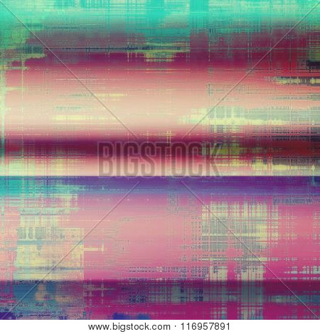 Old grunge antique texture. With different color patterns: yellow (beige); blue; purple (violet); cyan; pink