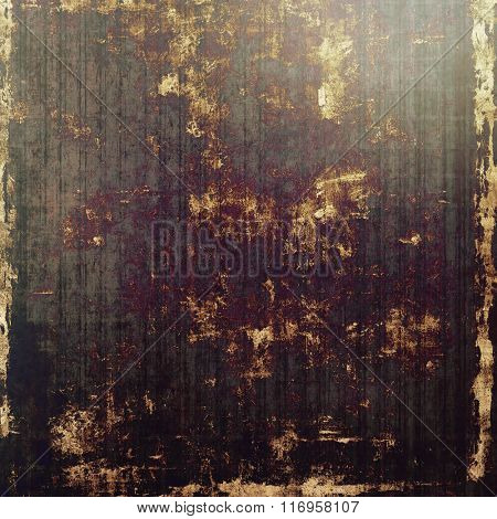 Old texture or antique background. With different color patterns: yellow (beige); brown; black; purple (violet); gray