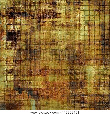 Grunge texture. With different color patterns: yellow (beige); brown; black; green; gray