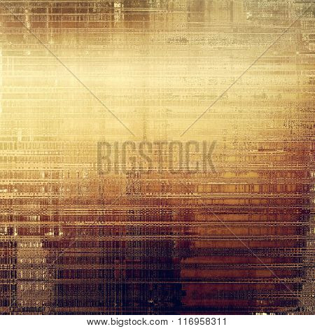 Grunge colorful background or old texture for creative design work. With different color patterns: yellow (beige); brown; purple (violet); gray