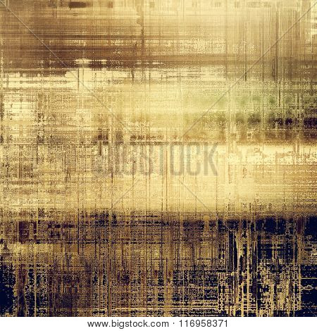Old Texture. With different color patterns: yellow (beige); brown; black; gray
