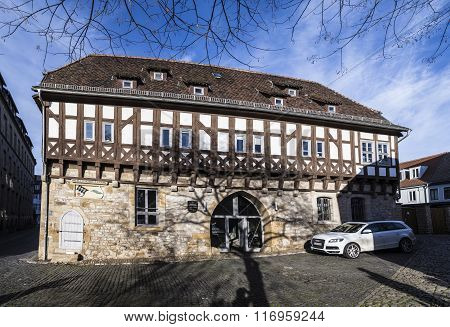 Old Synagogue In Erfurt, Germany
