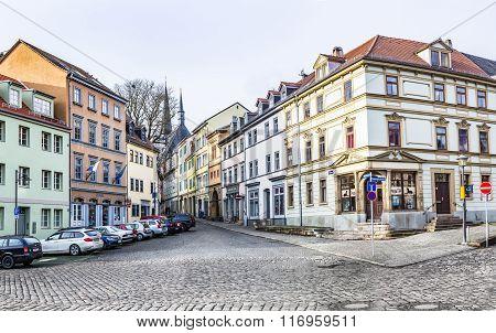 Famous Herderplatz In Weimar