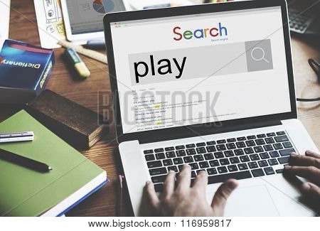 Play Playing Leisure Happiness Fun Entertainment Concept