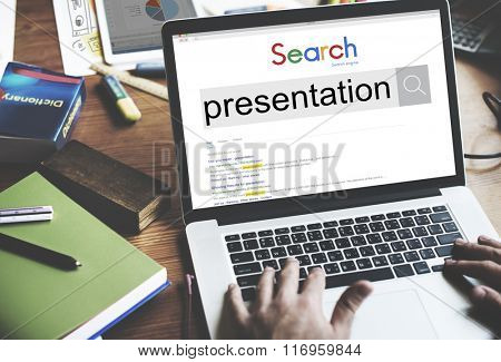Presentation Audience Communication Display Concept