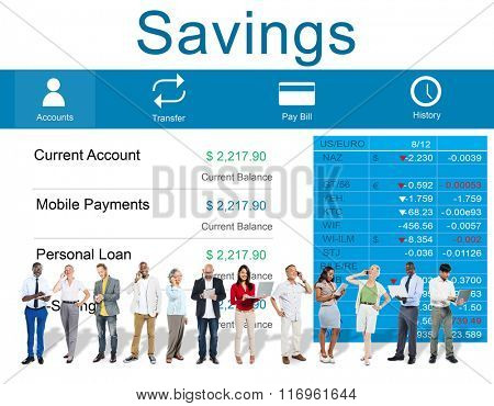 Savings Finance Economy Banking Assets Save Concept