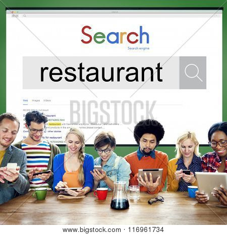 Restaurant Service Cafeteria Cuisine Culinary Kitchen Concept