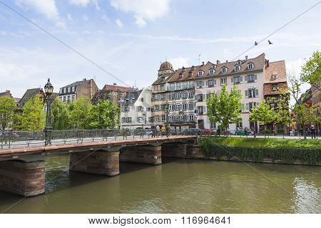 Strasbourg City, Alsace Province, France