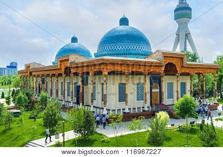 The Memorial Museum In Tashkent
