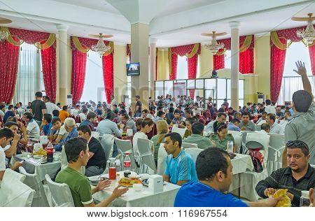 Dinner In Plov Center