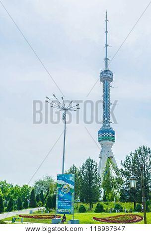 The Highest Building In Tashkent
