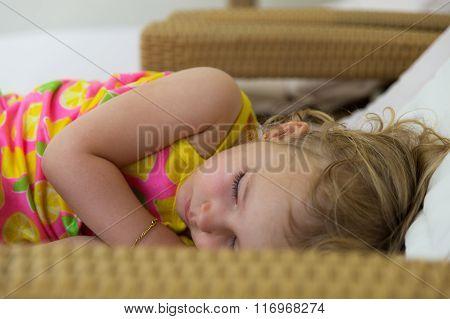 girl napping