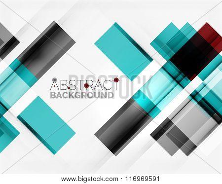 Straight glossy geometric design lines
