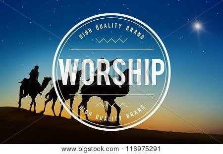 Worship Faith Belief Grace Hope Religion Believe Concept