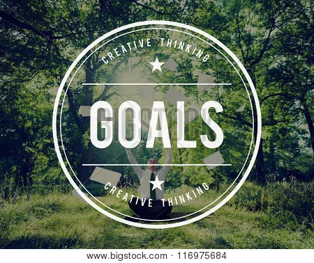 Goals Mission Hopeful Success Aim Concept